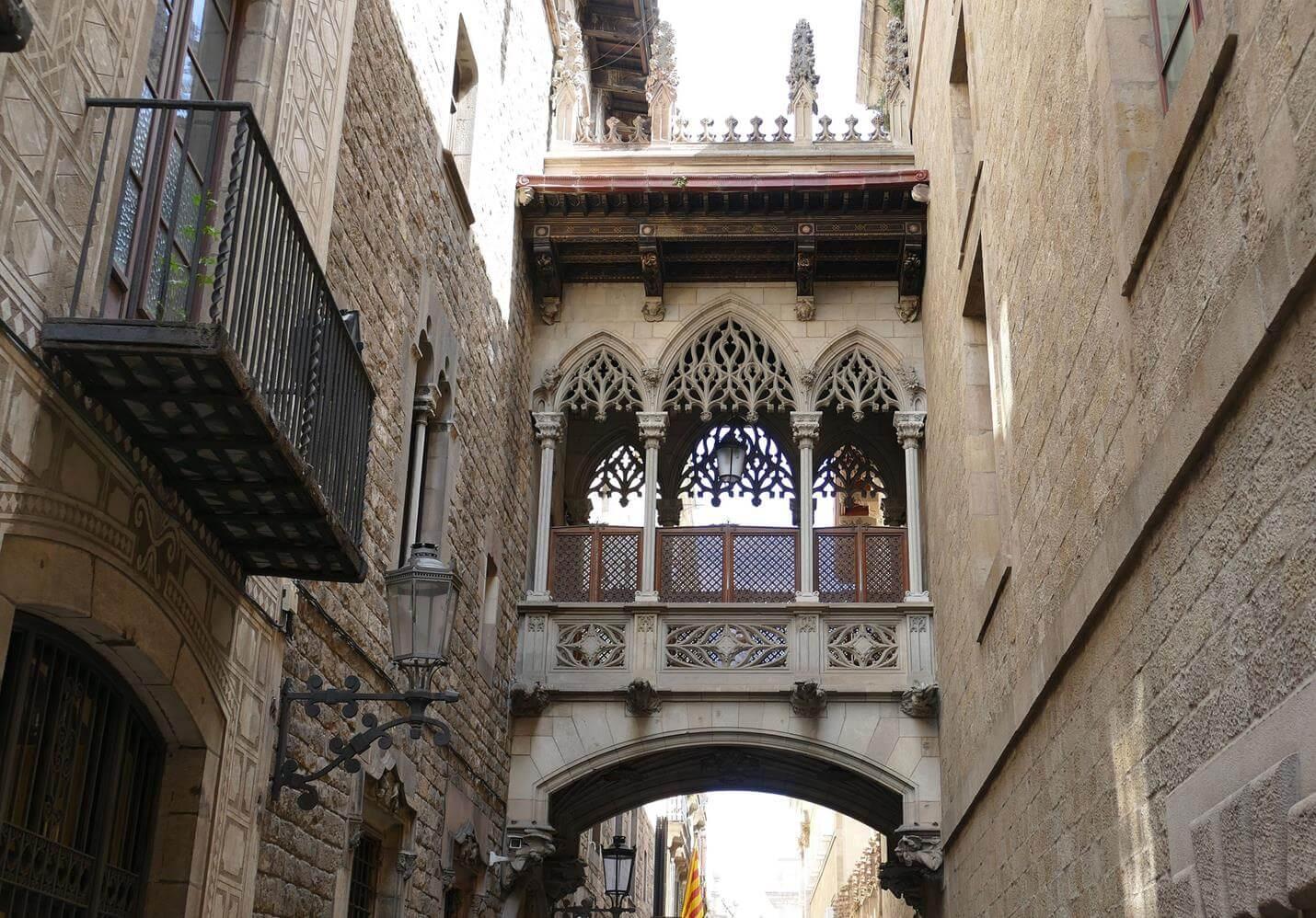 Palau Requesens in Barcelona - Top