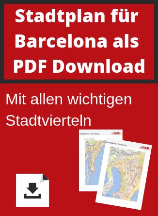 Barcelona Stadtplan