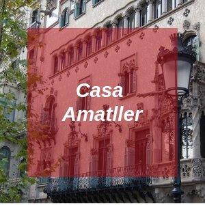 Casa Amatller in Barcelona