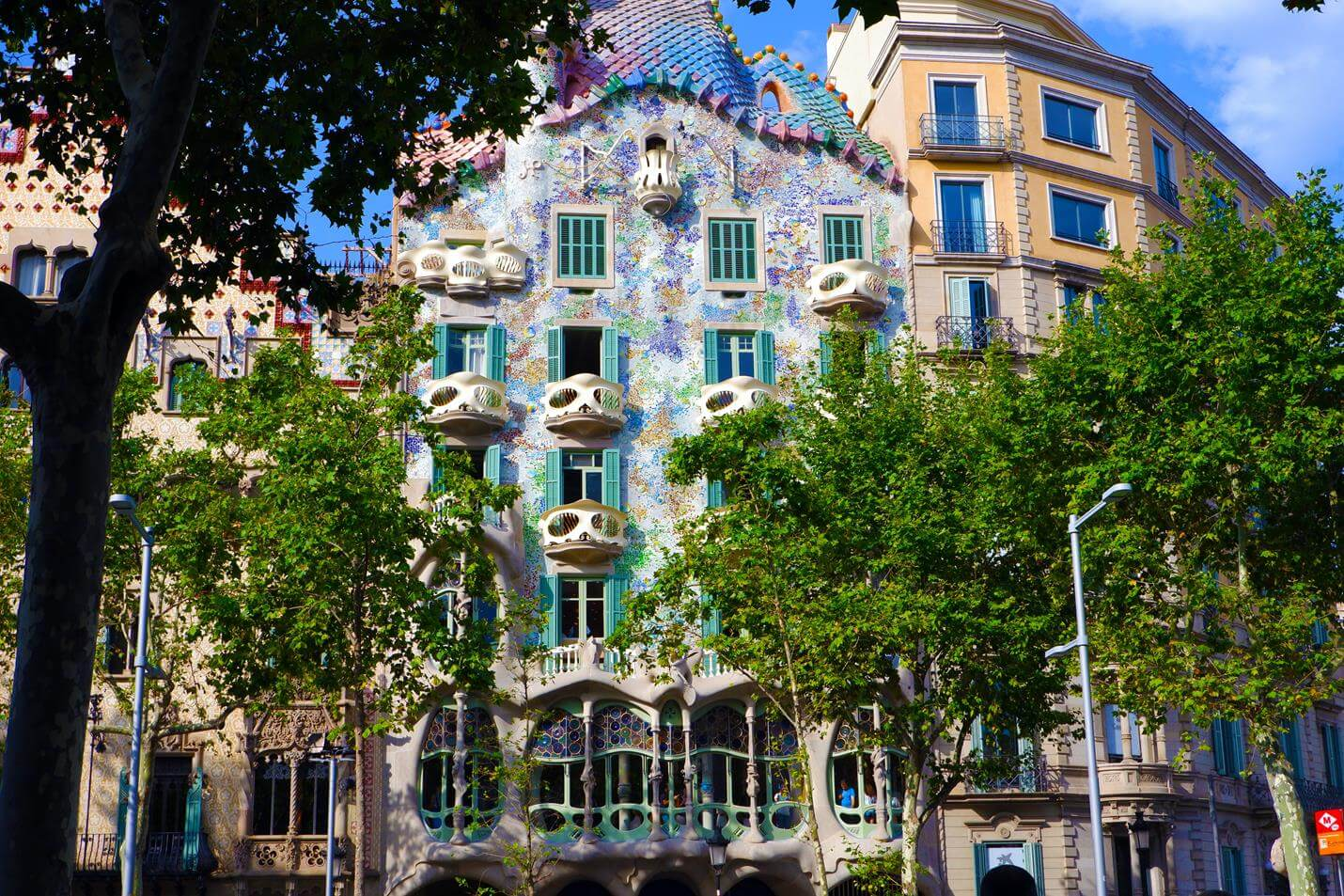 Casa Batlló in Barcelona - Top