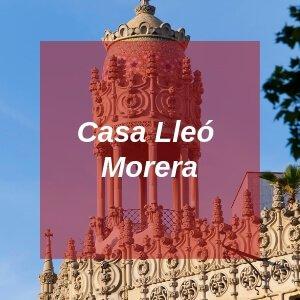 Casa Lleó Morera in Barcelona