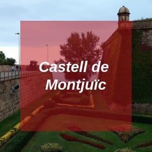Castell de Montjuic in Barcelona