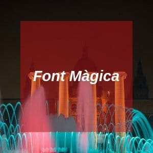 Font Magica in Barcelona