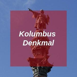 Kolumbus Denkmal in Barcelona