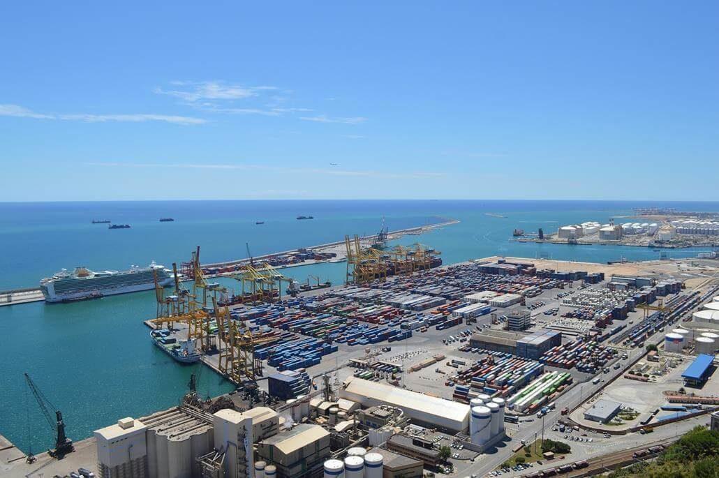 Barcelona Kreuzfahrt Hafen
