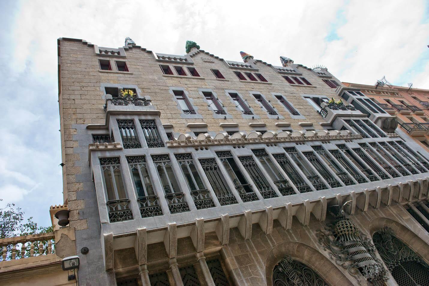 Palau Güell in Barcelona - Top