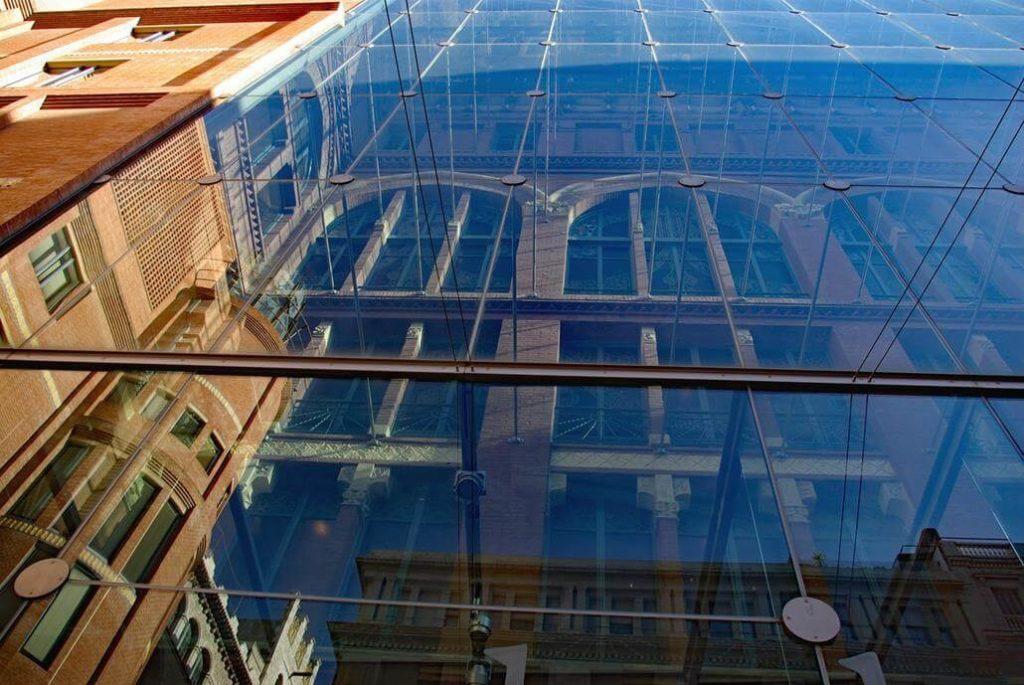 Palau de la Música Glas Fassade