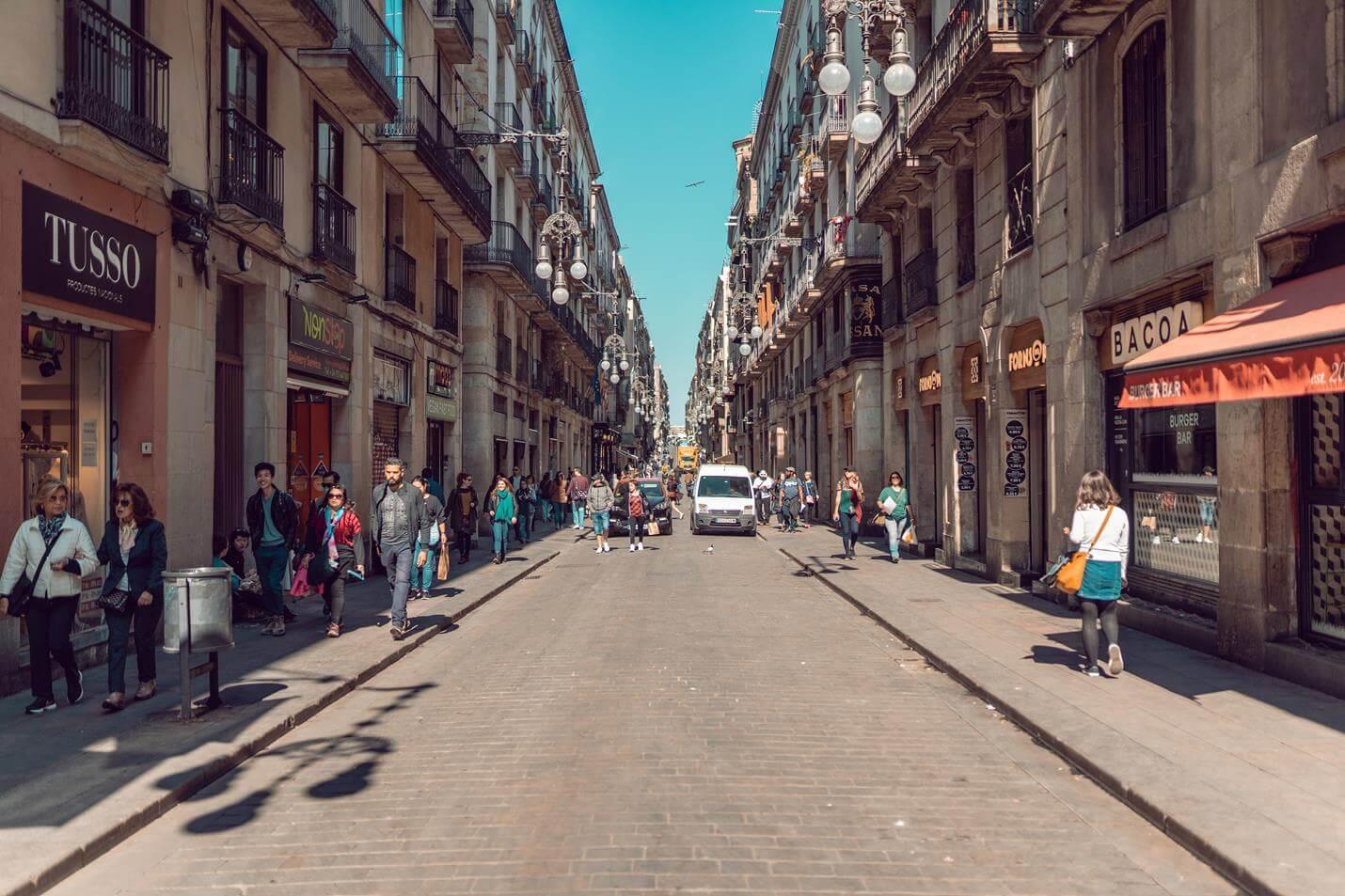 Geschäfte in Barcelona - Top
