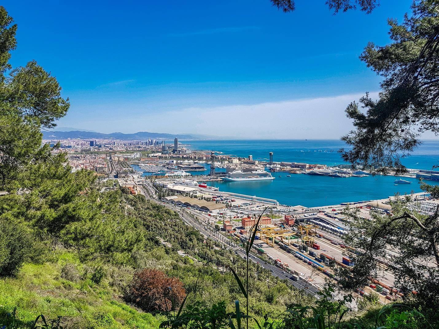 Hafenrundfahrt in Barcelona - Top
