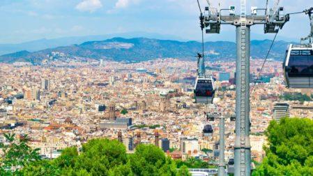 Teleferic de Montjuic: die Seilbahn in Barcelona