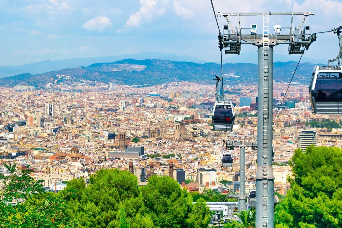 Teleferic de Montjuic - Top