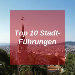 Top 10 Stadtführungen in Barcelona