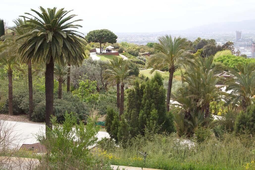 botanischer Garten Barcelona