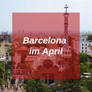 Barcelona im April