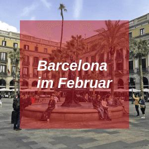 Barcelona im Februar