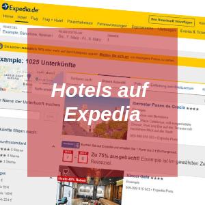 Hotels auf Expedia