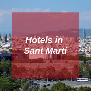 Hotels in Sant Marti