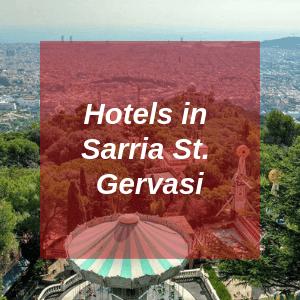 Hotels in Sarria St. Gervasi
