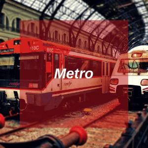Metro in Barcelona