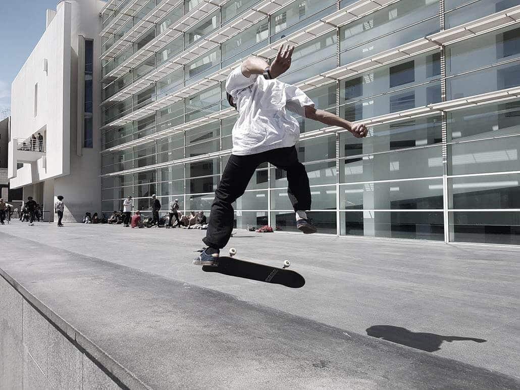Museu d'art Contemporani de Barcelona Skateboard
