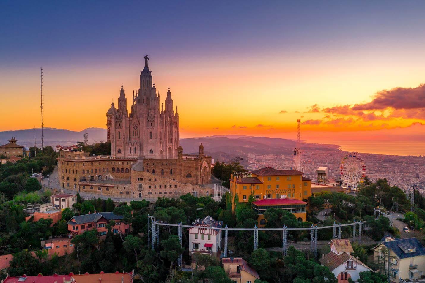 Sagrat Cor in Barcelona - Top