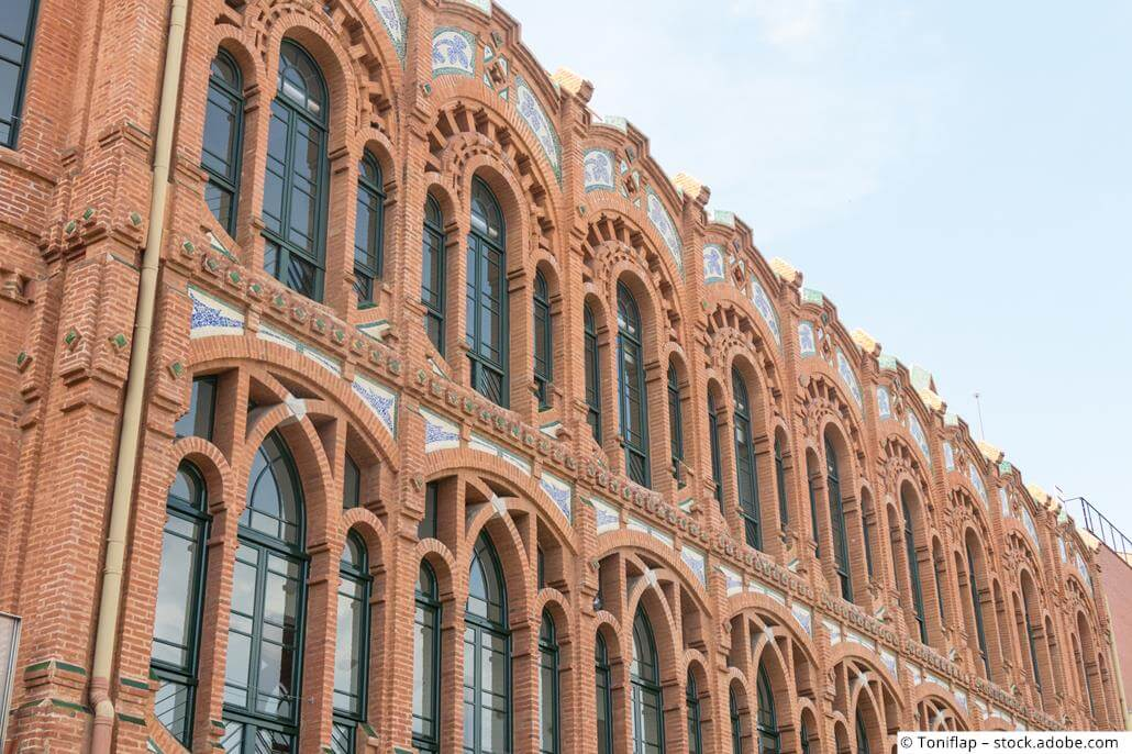 CaixaForum Barcelona Backstein Architektur