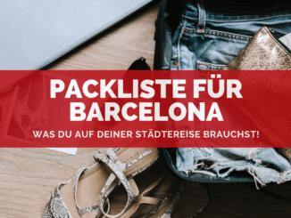 Barcelona Packliste