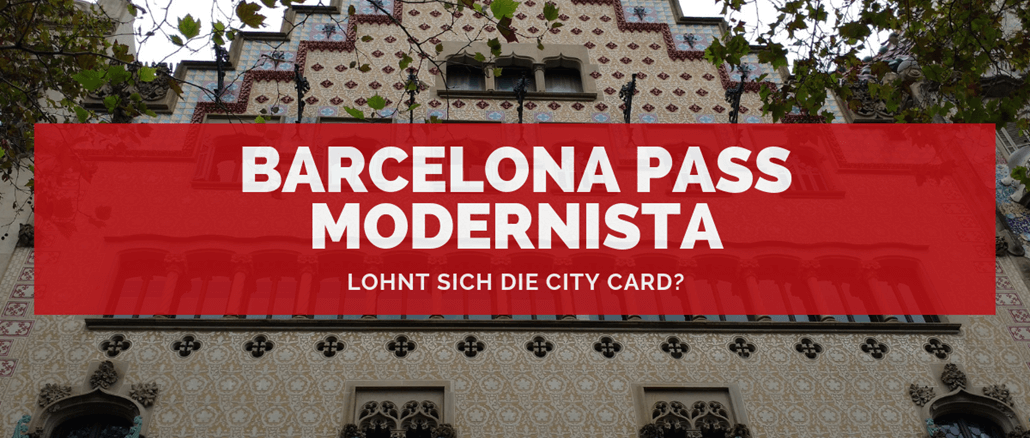 Barcelona Pass Modernista