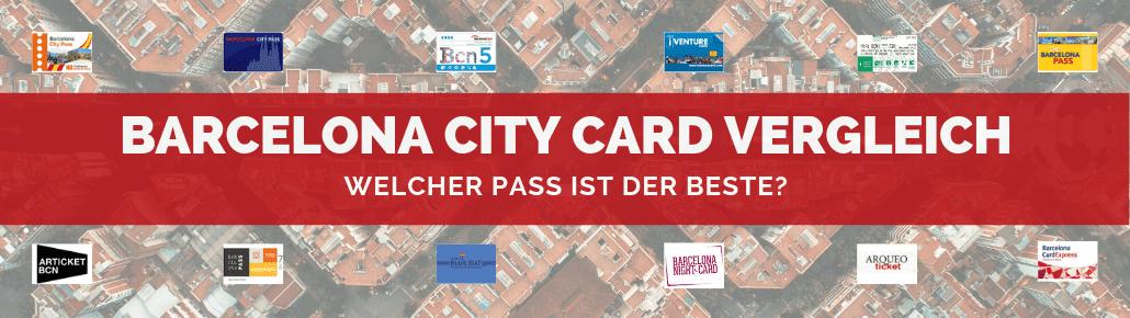 Barcelona City Card Vergleich