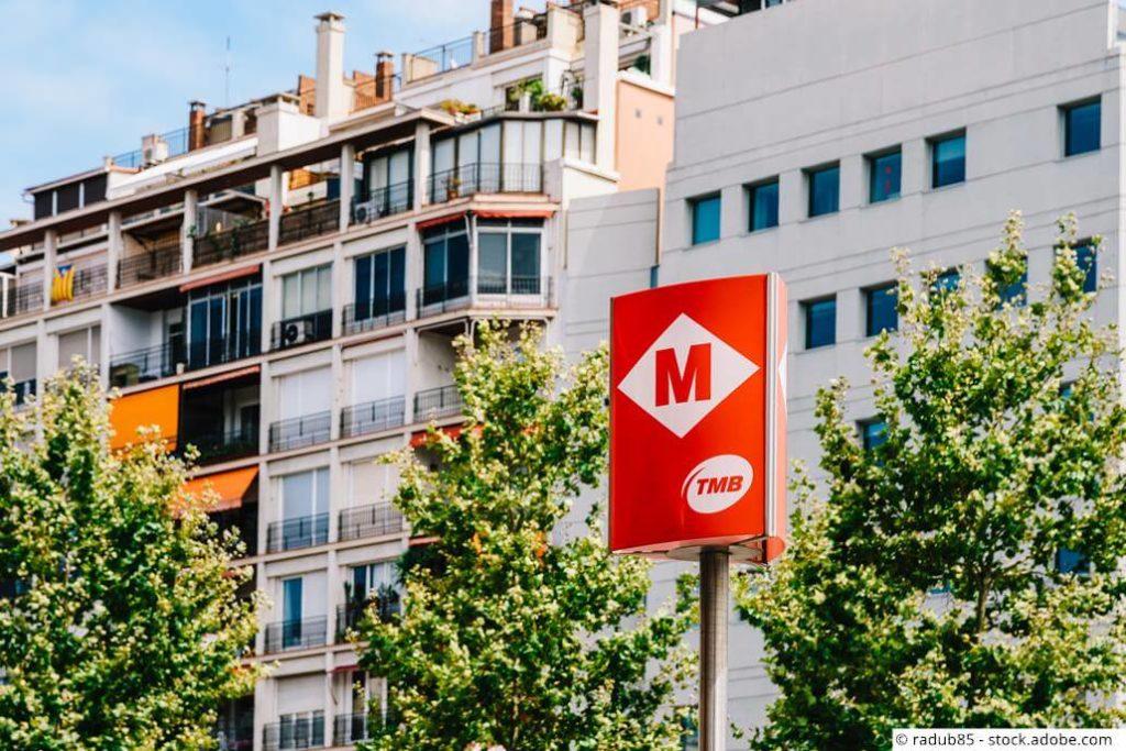Barcelona Metro Strand