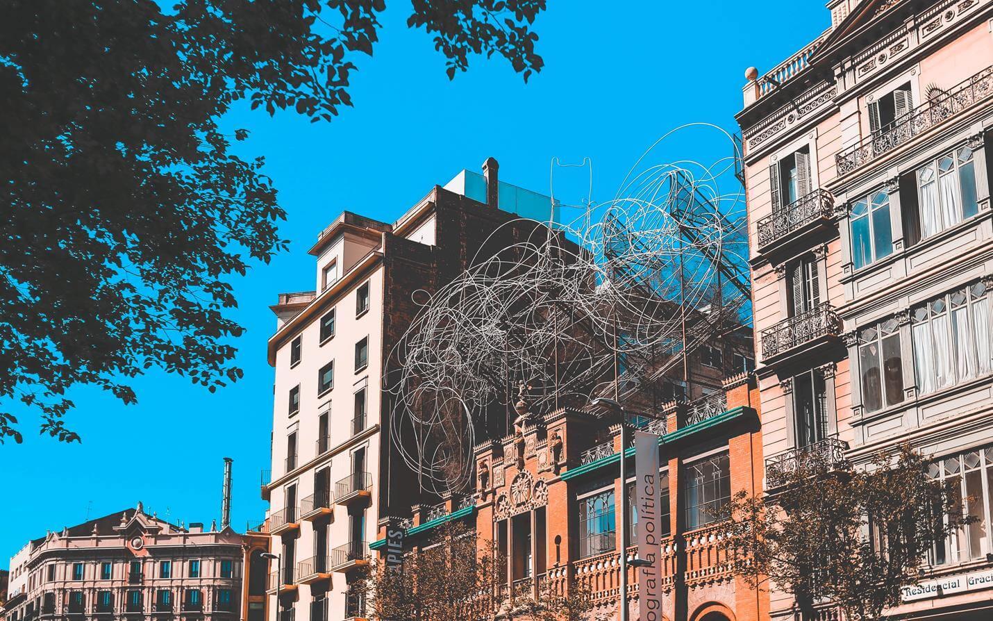 Fundació Antoni Tàpies in Barcelona - Top