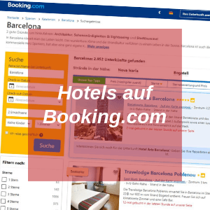 Hotels auf Booking