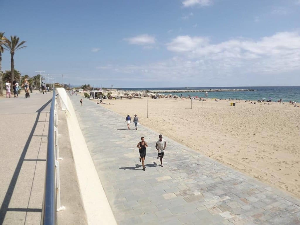 Platja-de-Bogatell-Barcelona