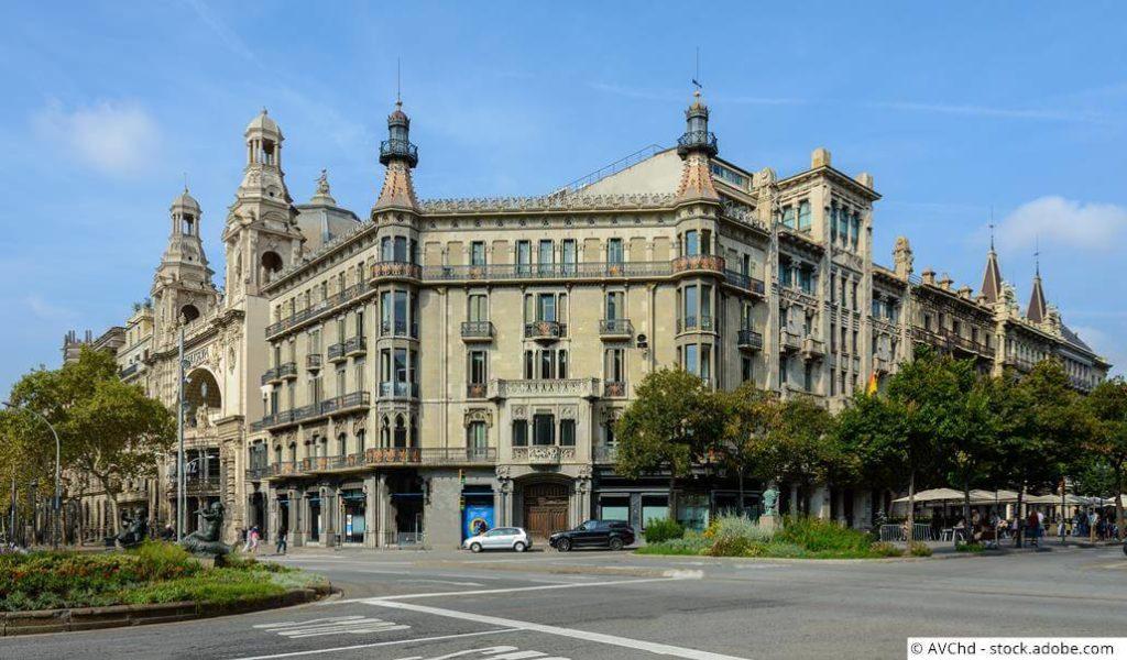 Barcelona Stadtviertel Les Corts