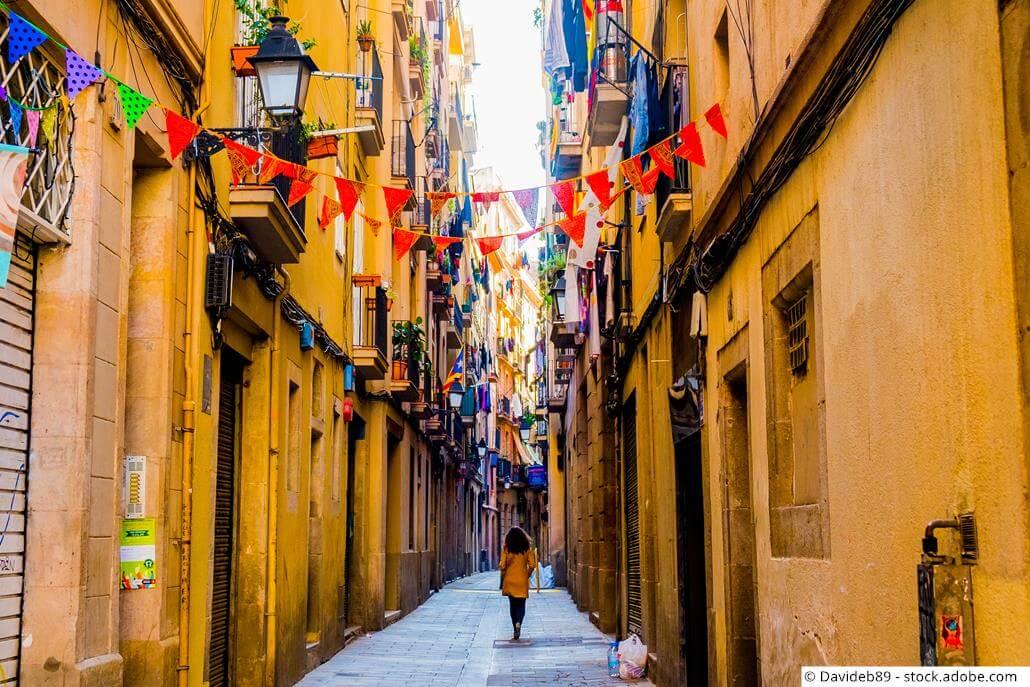 Barcelona-Stadtviertel-Raval
