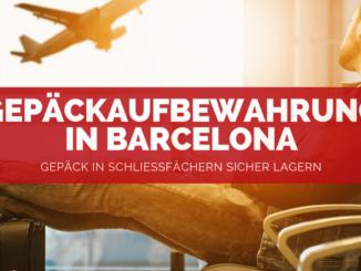 Gepäckaufbewahrung in Barcelona - FB