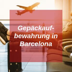 Gepäckaufbewahrung in Barcelona