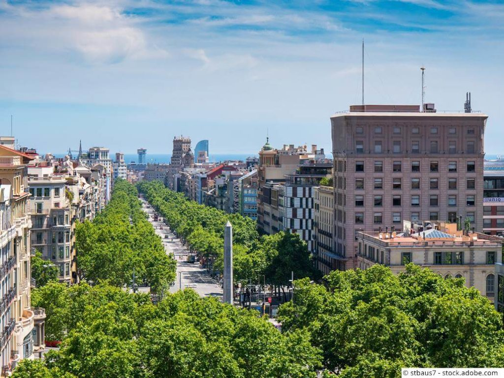 Passeig-de-Gracia-Barcelona