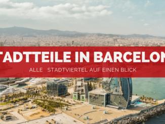 Stadtteile in Barcelona - FB