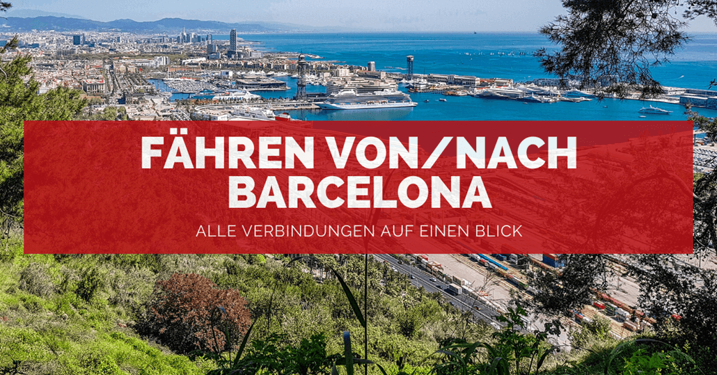 Fähre genua barcelona