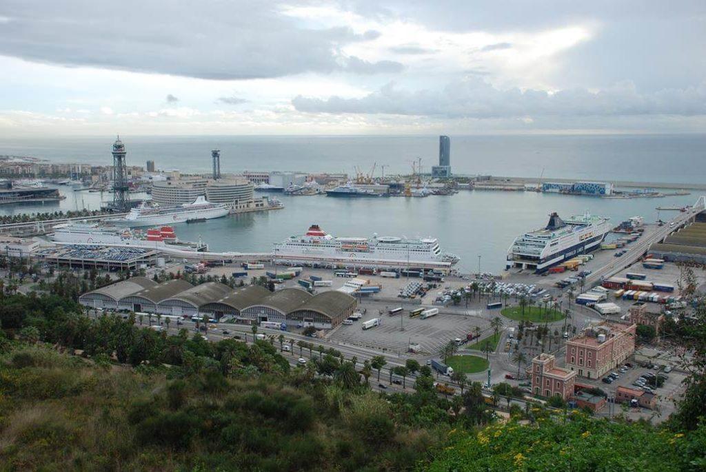 Fährhafen in Barcelona