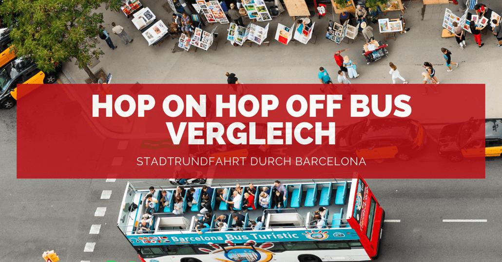 Barcelona Hop on Hop off Bus - FB