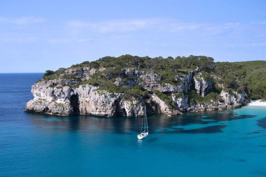 Steilküste auf Formentera