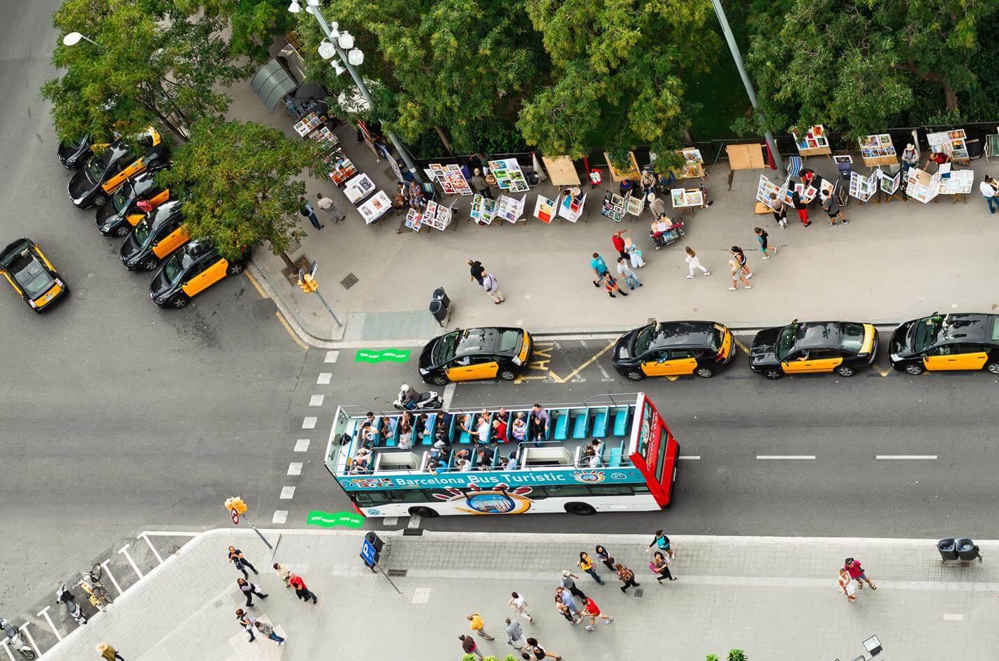 Hop On Hop Off Bus Barcelona - Top