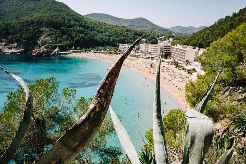 Bucht auf Ibiza