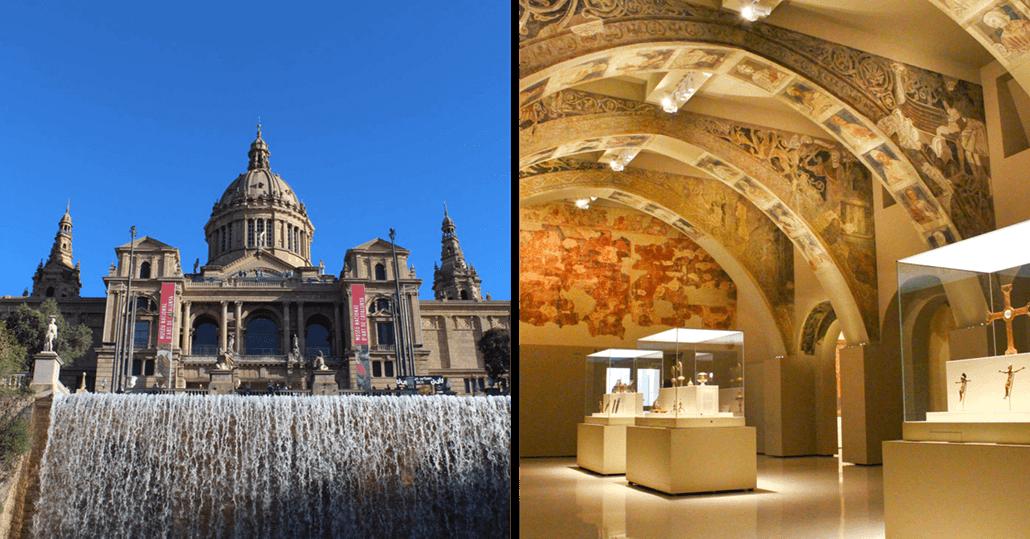 Nationalmuseum-für-katalanische-Kunst-MNAC-