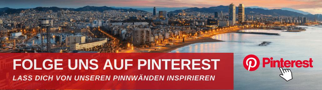Folge uns auf Pinterest