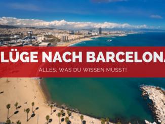 Flug nach Barcelona - FB