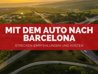 Mit dem Auto nach Barcelona - FB