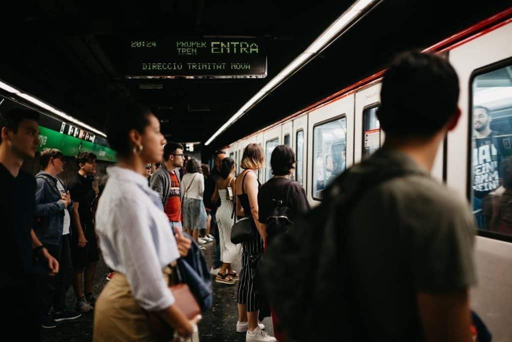 Metro Station Barcelona